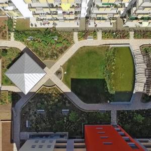 Architekturfotografie Innenhof Photo Drone